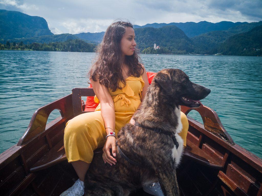 Achille-nel-lago-di-Bled