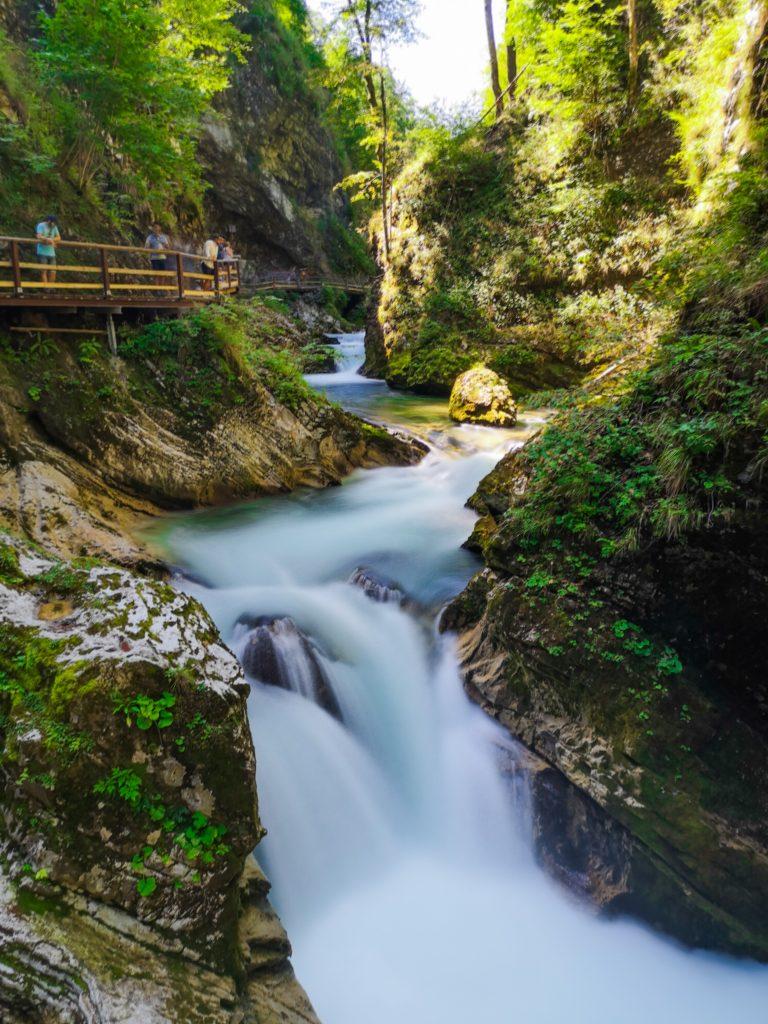Cascata-Gola-di-Vintgar