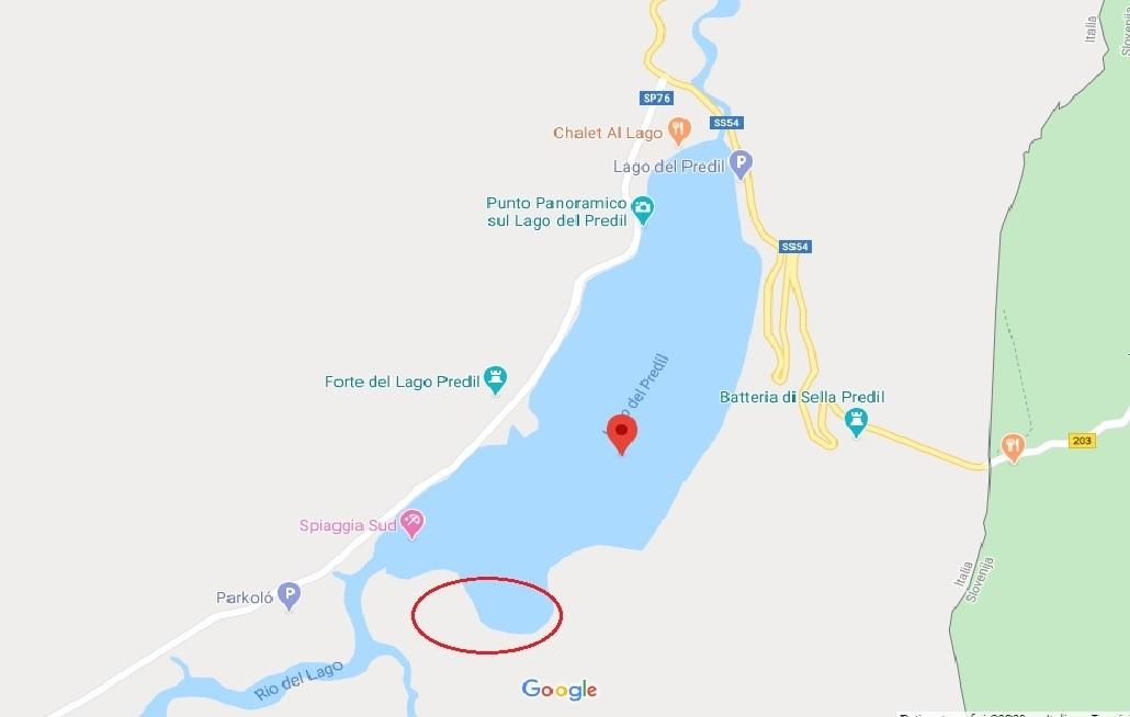 Mappa-Lago-del-Predil
