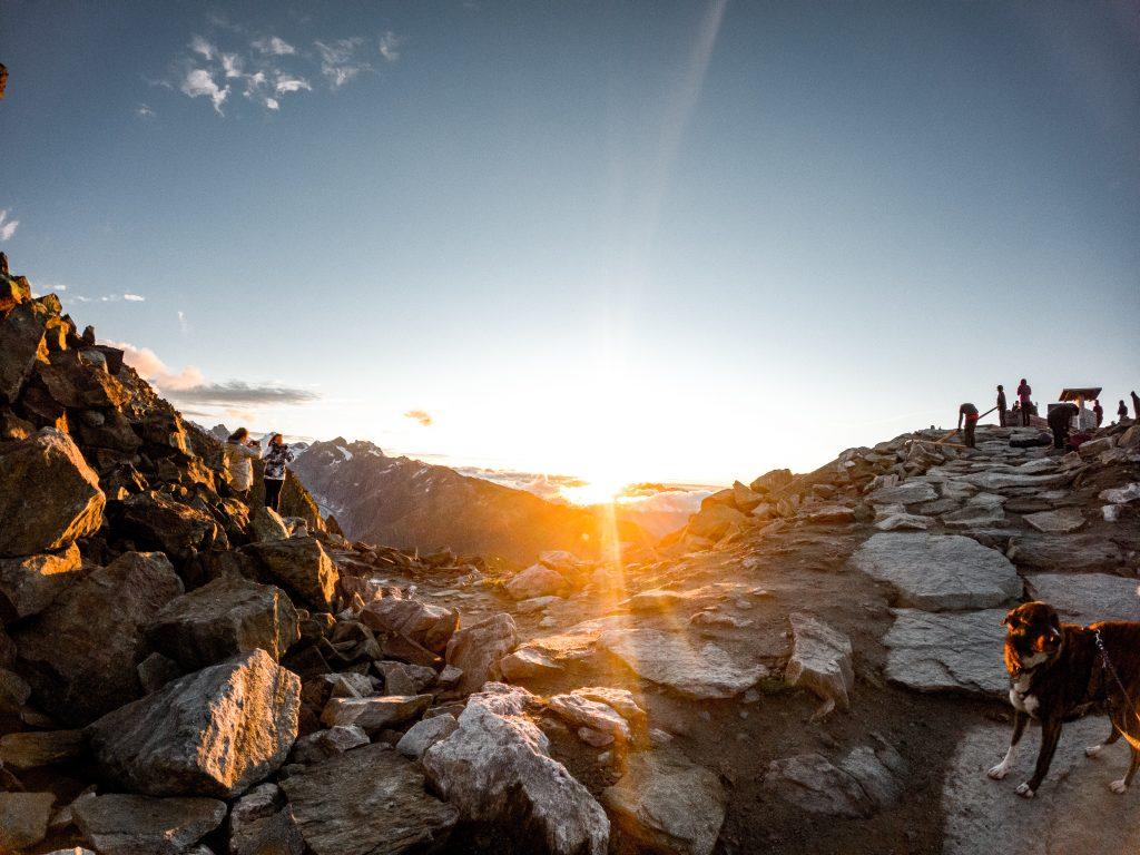 Alba-sul-ghiacciaio-dell-Aletsch